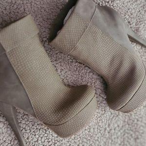 Brand New Heeled Booties